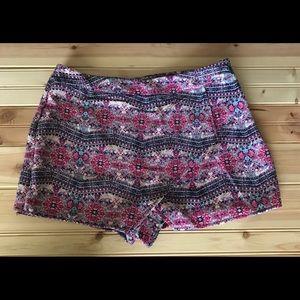 Pink Republic Skort Shorts Skirt Size Large